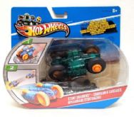 Hot Wheels Stunt Chargers Car Green & Black